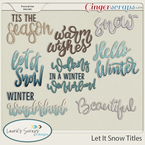Let It Snow Titles