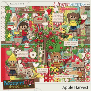 Apple Harvest by BoomersGirl Designs