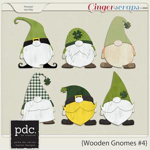 Polka Dot Chicks: Wooden Gnomes #4