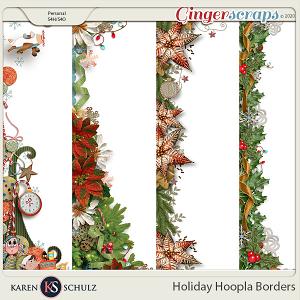 Holiday Hoopla Borders by Karen Schulz
