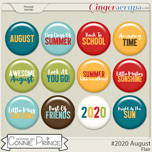 #2020 August - Flair Pack by Connie Prince
