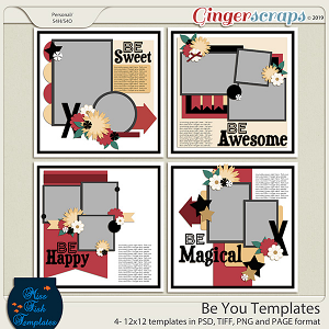 Be You Templates by Miss Fish