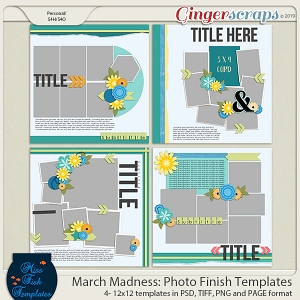 Photo Finish Templates by Miss Fish