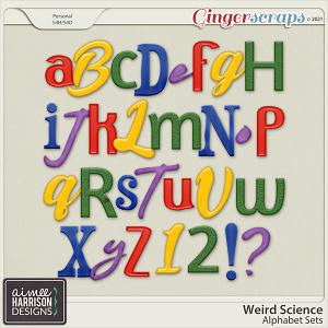 Weird Science Alpha Sets by Aimee Harrison