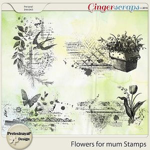 Flowers for mum Stamps