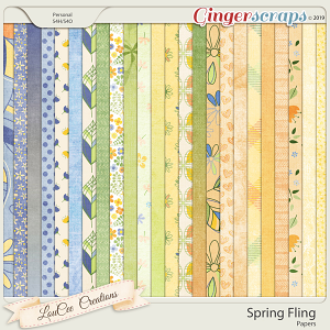 Spring Fling Papers