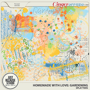 Homemade With Love: Gardening Splatters by JB Studio