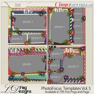 Photo Focus Templates Vol. 5 by LDragDesigns