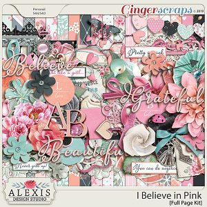 I Believe in Pink - Full Page Kit