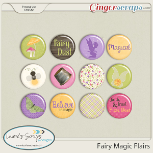 Fairy Magic Flairs