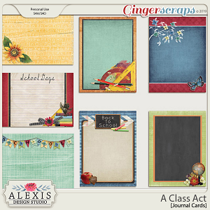 A Class Act - Journal Cards