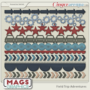 Field Trip Adventures TRIMS by MagsGraphics