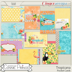 Tropicana - Pocket Cards by Connie Prince