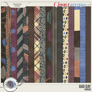 Bad Day - Papers - by Neia Scraps