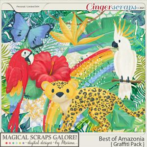 Best of Amazonia (graffiti pack)
