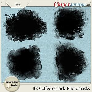 It's Coffee o'clock Photomasks