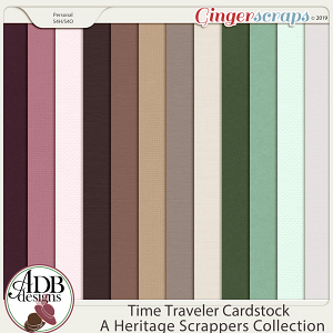 Time Traveler Cardstock Solids by ADB Designs