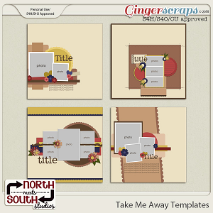 Take Me Away {Templates} by Trixie Scraps and Connie Prince