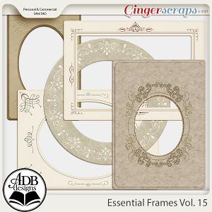 Essential Frames Vol 15 by ADB Designs