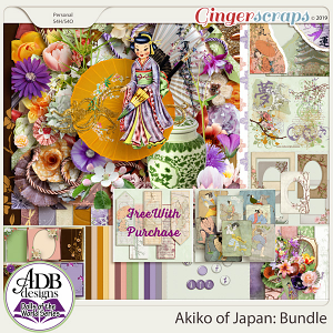 Akiko Bundle {DOTW - Japan} by ADB Designs