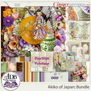 Akiko Bundle {DOTW - Japan} by ADB Designs