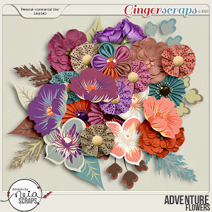 Adventure - Flowers - by Neia Scraps