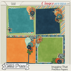 Imagine That - PreDeco Papers