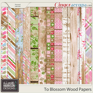 To Blossom Wood Papers by Aimee Harrison