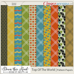 Top Of The World | Pattern Paper Pack