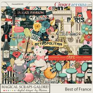 Best of France (page kit)
