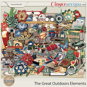 The Great Outdoors Elements by JoCee Designs