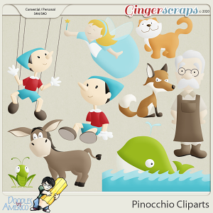 Doodles By Americo: Pinocchio Cliparts