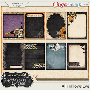 All Hallows Eve Journal and Pocket Scrapbooking Cards