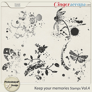 Keep your memories Stamps Vol.4