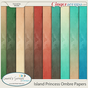 Island Princess Ombre Papers