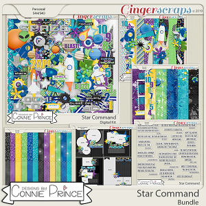 Star Command - Bundle by Connie Prince