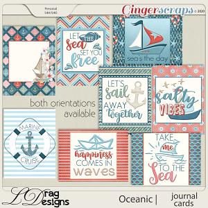 Oceanic: Journal Cards by LDragDesigns