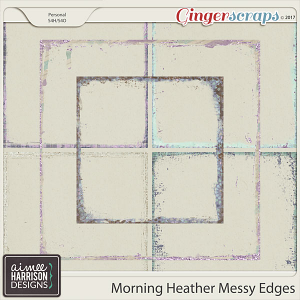 Morning Heather Messy Edges by Aimee Harrison