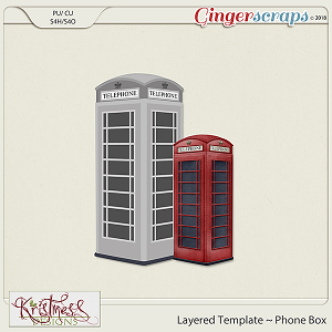 CU Phone Box Layered Template