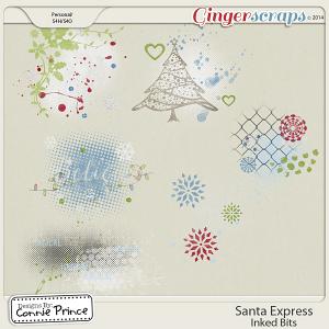 Santa Express - Inked Bits