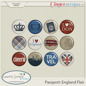 Passport: England Flairs