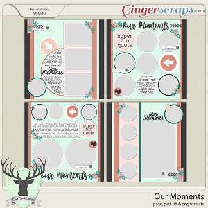 Our Moments by Dear Friends Designs