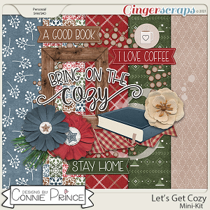 Let's Get Cozy - MiniKit by Connie Prince