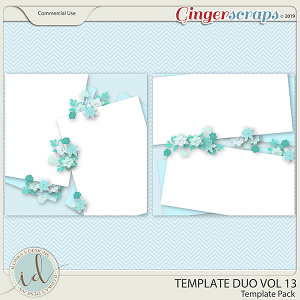 Template Duo Vol 13 by Ilonka's Designs