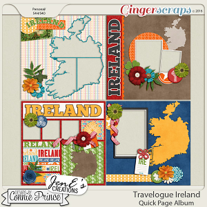 Travelogue Ireland - QuickPage Album