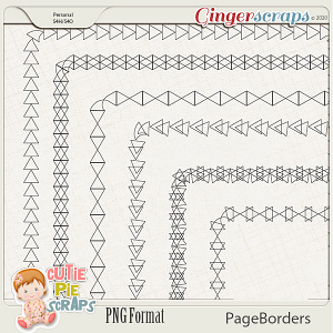 Page Borders 53 By Cutie Pie Scraps
