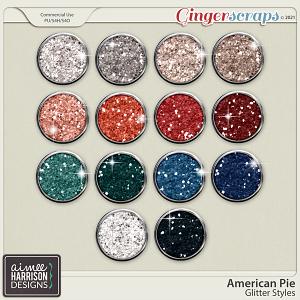 American Pie Glitters by Aimee Harrison