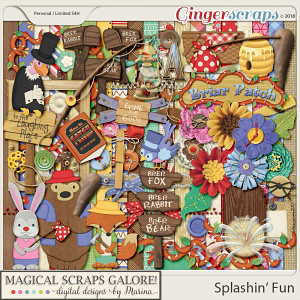 Splashin' Fun (page kit)