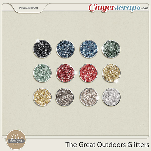 The Great Outdoors Glitters by JoCee Designs