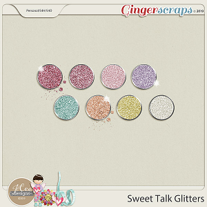 Sweet Talk Glitters by JoCee Designs